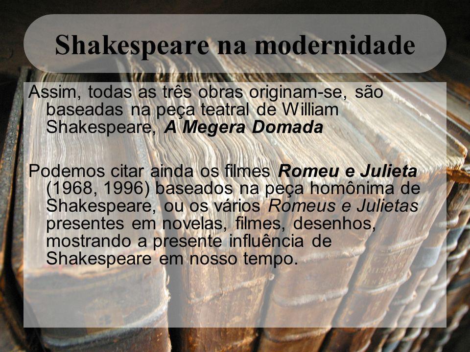 Shakespeare na modernidade
