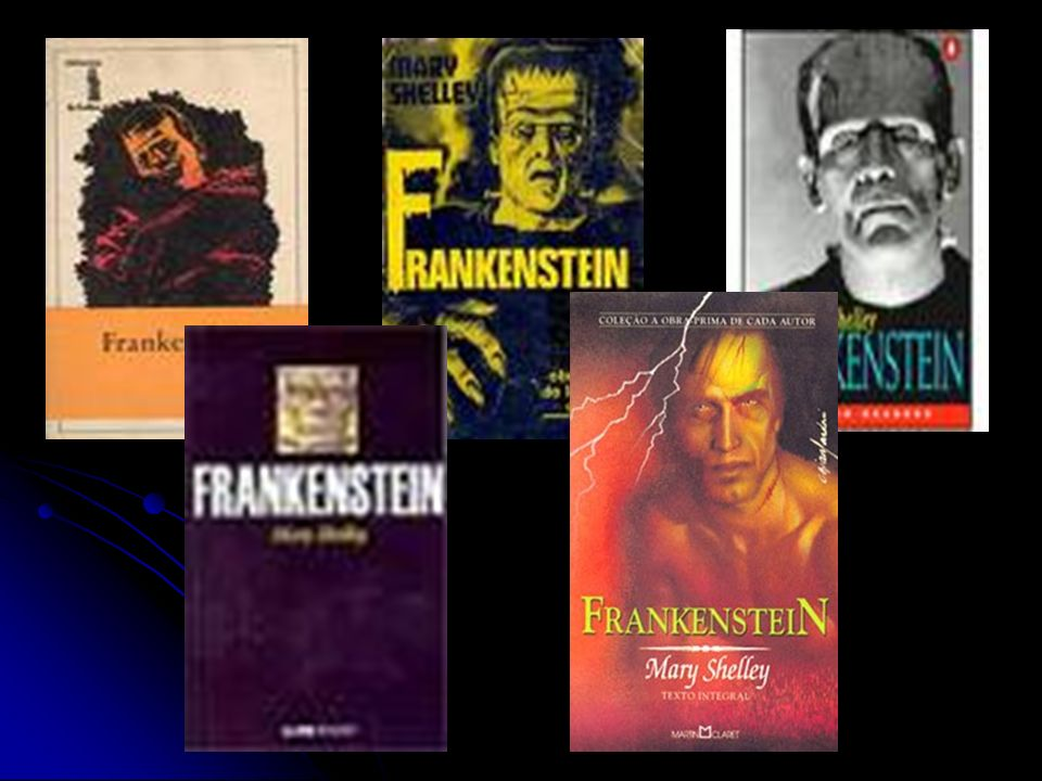 Mary Shelley - Frankenstein Romantismo