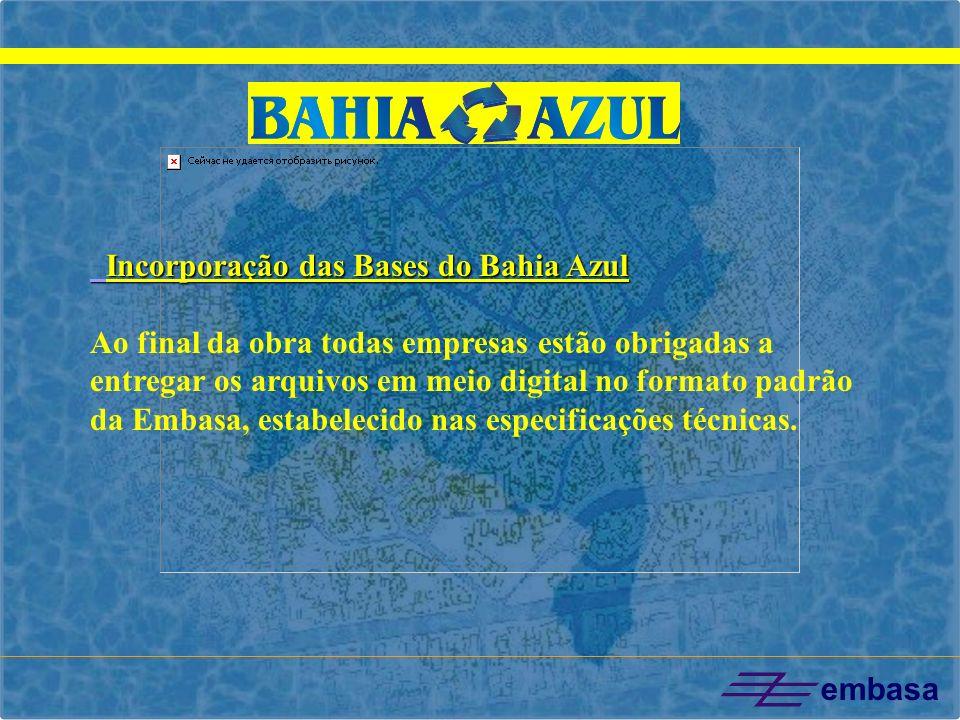 Incorporação das Bases do Bahia Azul