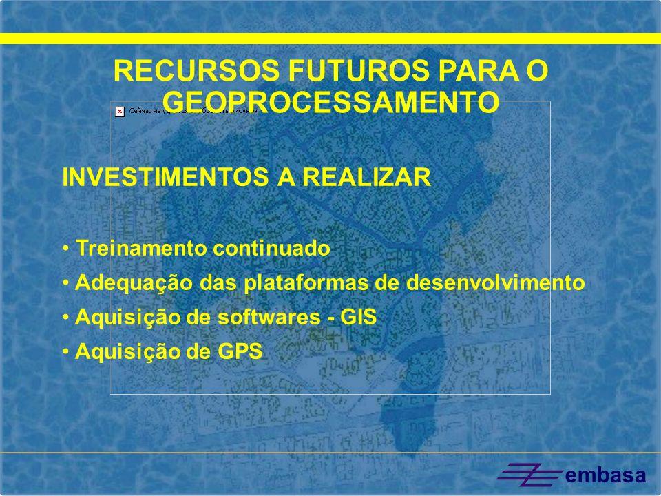 RECURSOS FUTUROS PARA O GEOPROCESSAMENTO