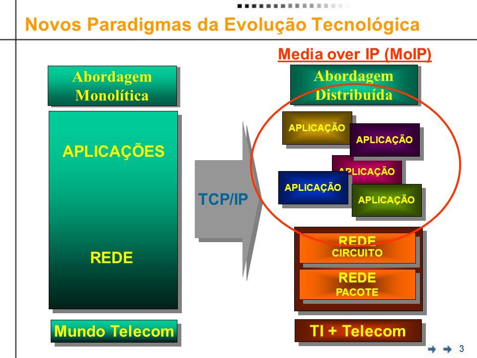 Novos Paradigmas da Evolução Tecnológica