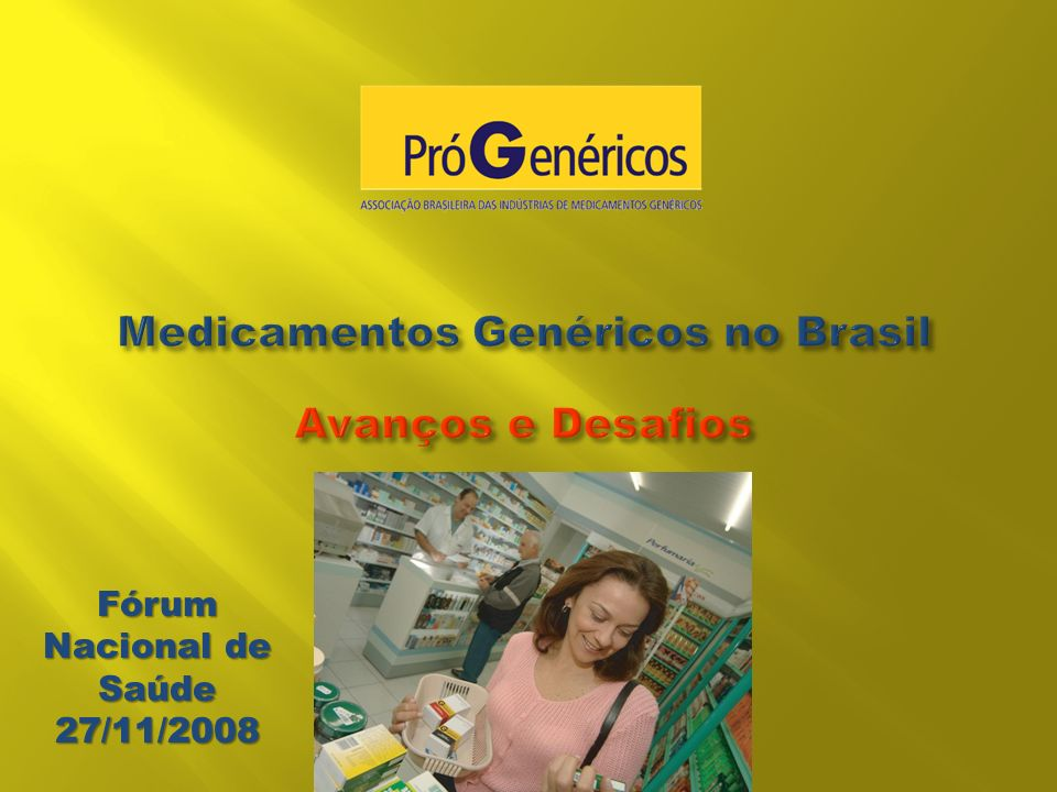 Medicamentos Genéricos no Brasil Avanços e Desafios