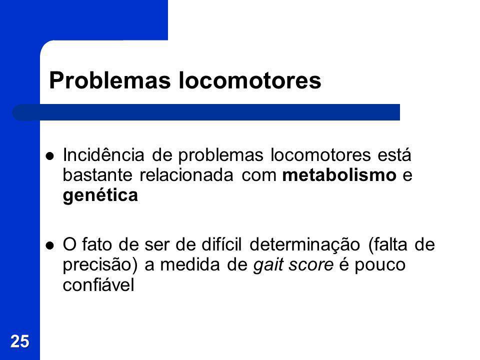 Problemas locomotores