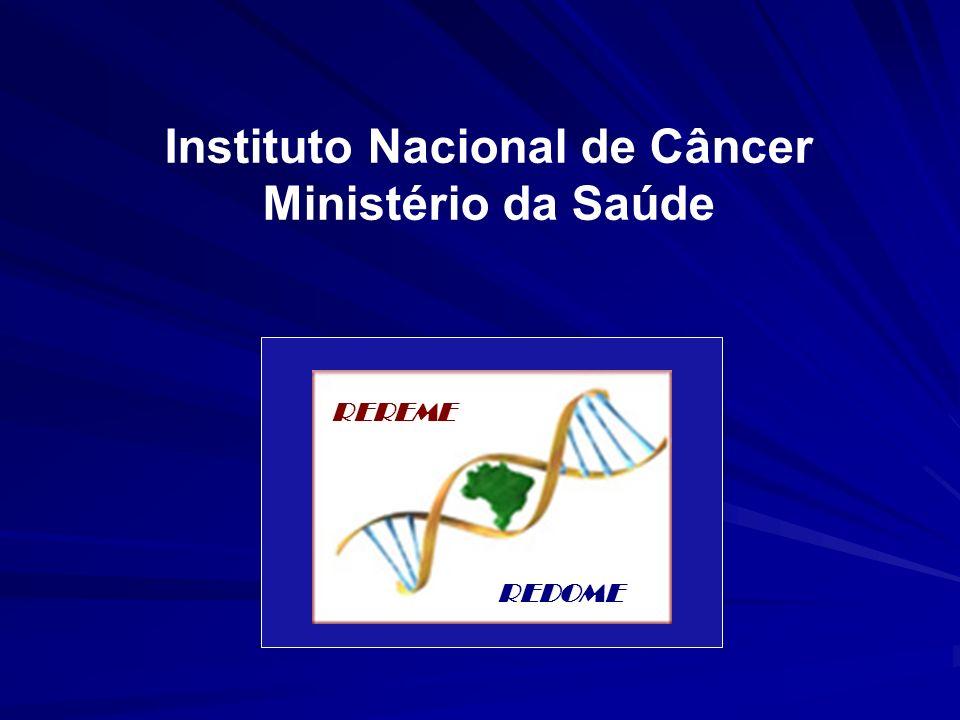 Instituto Nacional de Câncer Ministério da Saúde
