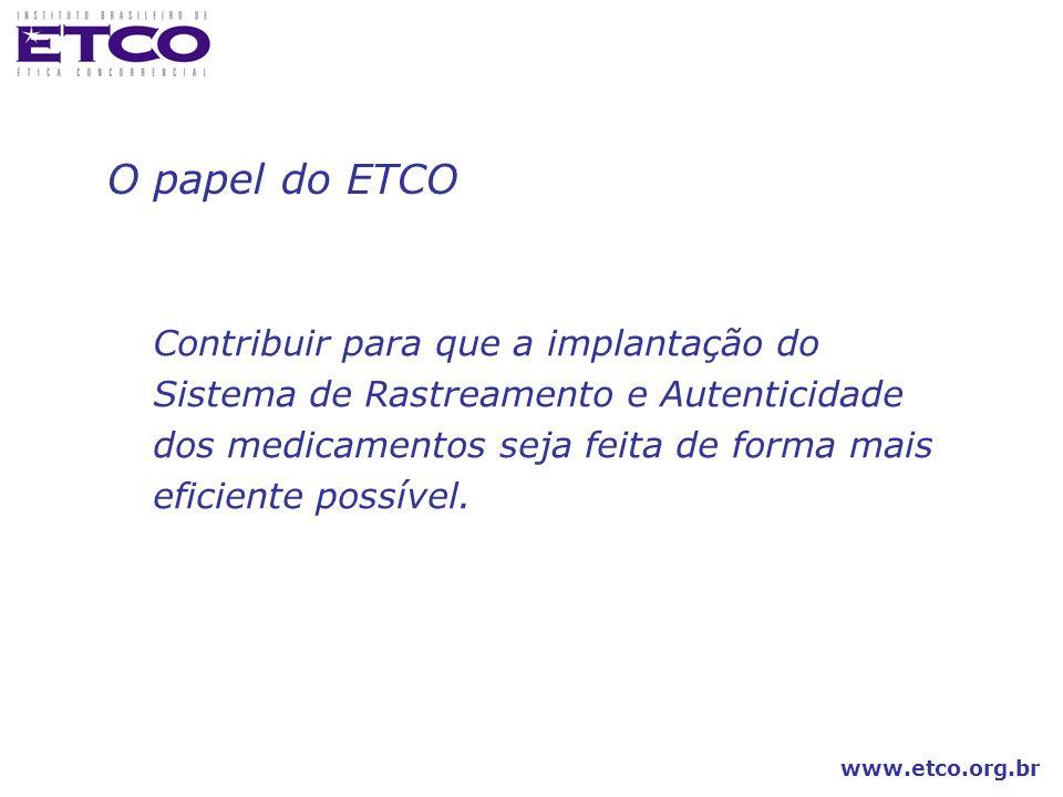 O papel do ETCO