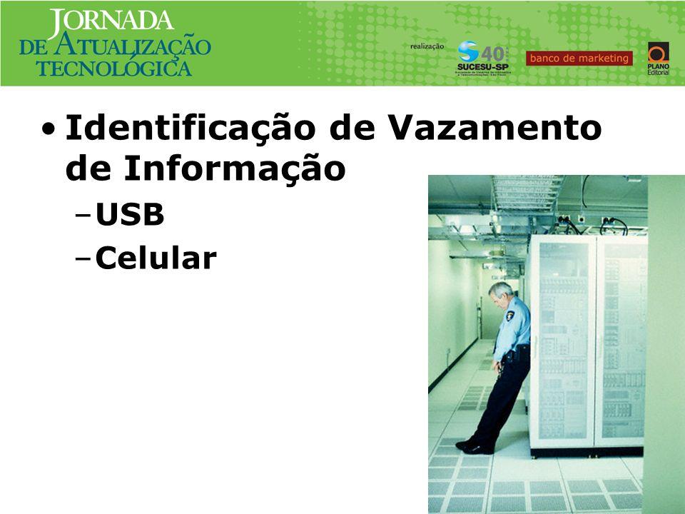 Identificação de Vazamento de Informação