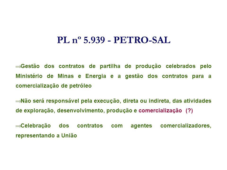 PL nº 5.939 - PETRO-SAL