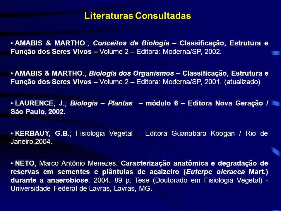 Literaturas Consultadas