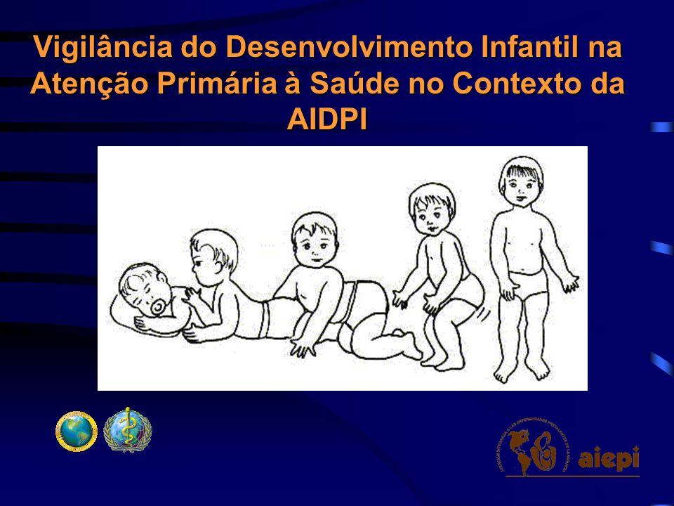 Vigilância do Desenvolvimento Infantil na Atenção Primária à Saúde no Contexto da AIDPI