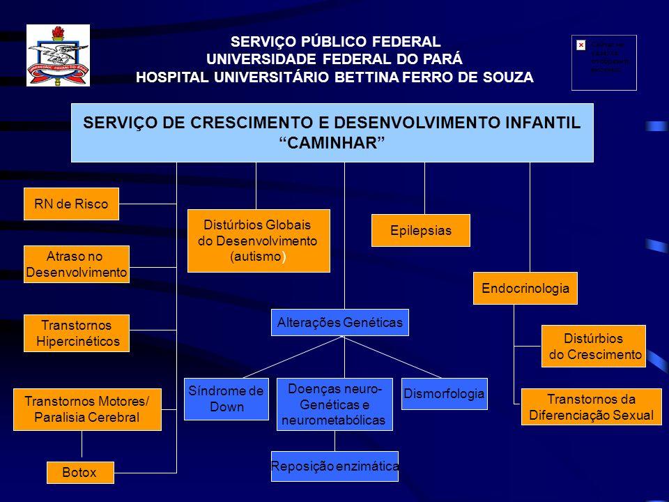 SERVIÇO DE CRESCIMENTO E DESENVOLVIMENTO INFANTIL CAMINHAR