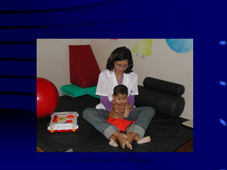 SERVIÇO DE DESENVOLVIMENTO INFANTIL – PROGRAMA CAMINHAR