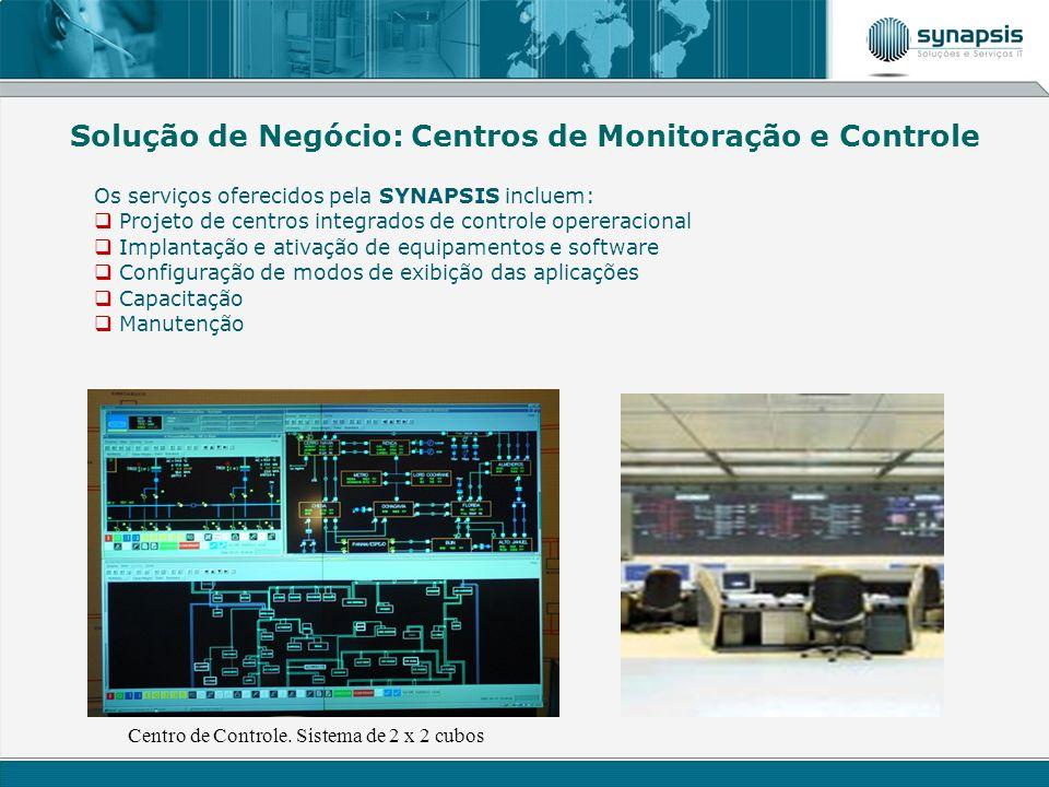 Centro de Controle. Sistema de 2 x 2 cubos