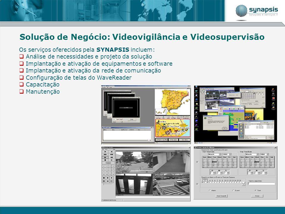Solução de Negócio: Videovigilância e Videosupervisão