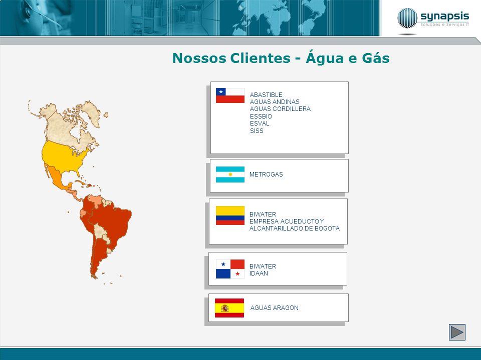 Nossos Clientes - Água e Gás