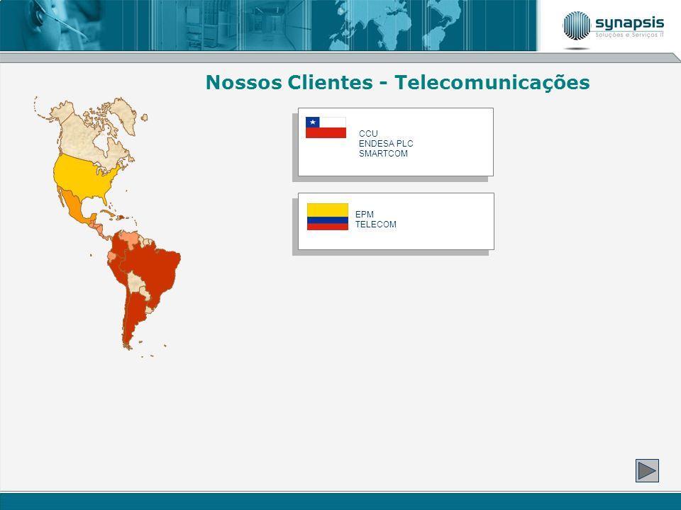 Nossos Clientes - Telecomunicações