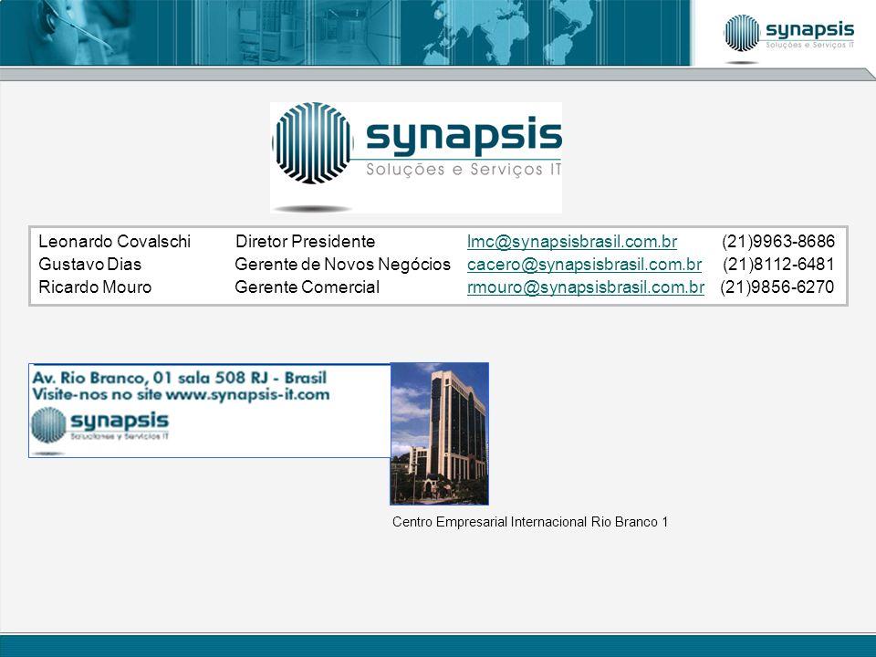 Leonardo Covalschi Diretor Presidente. lmc@synapsisbrasil. com