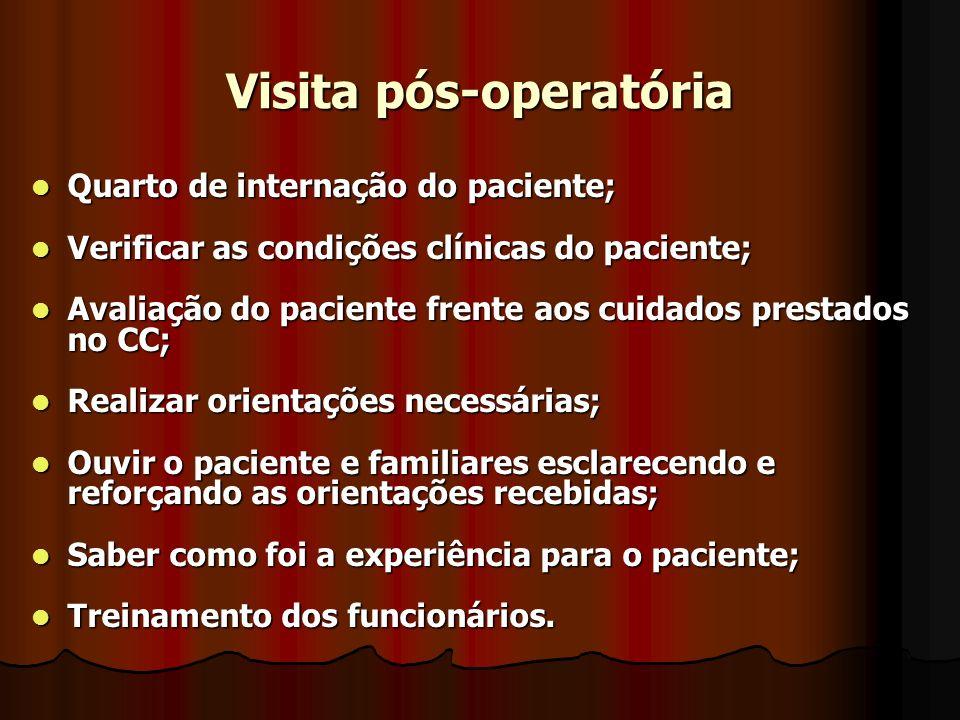 Visita pós-operatória