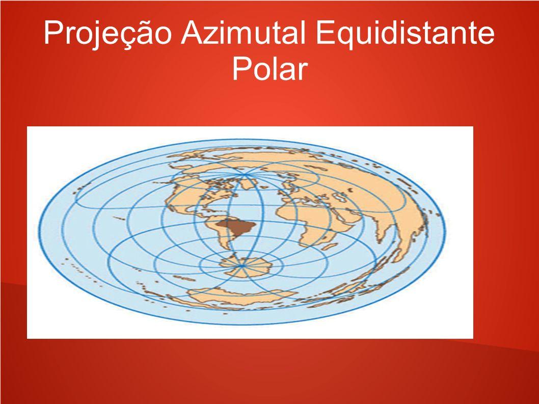 Projeção Azimutal Equidistante Polar