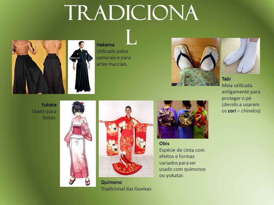 Tradicional Hakama Utilizado pelos samurais e para artes marciais.