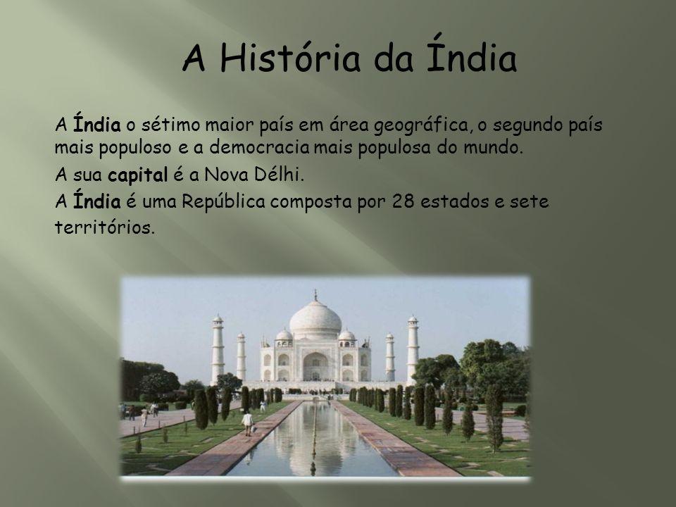 A História da Índia