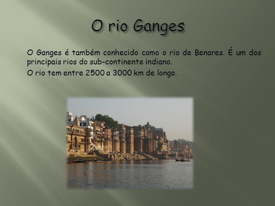 O rio Ganges