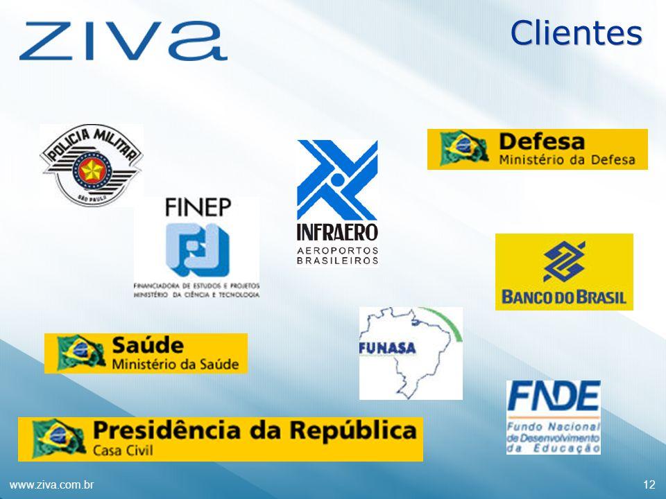 Clientes www.ziva.com.br