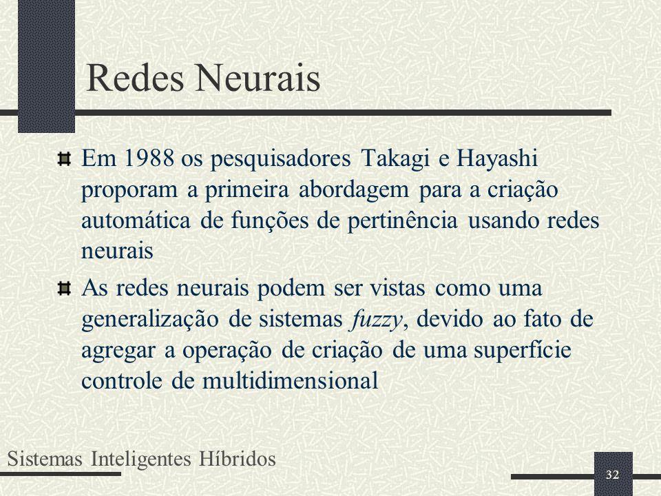Redes Neurais
