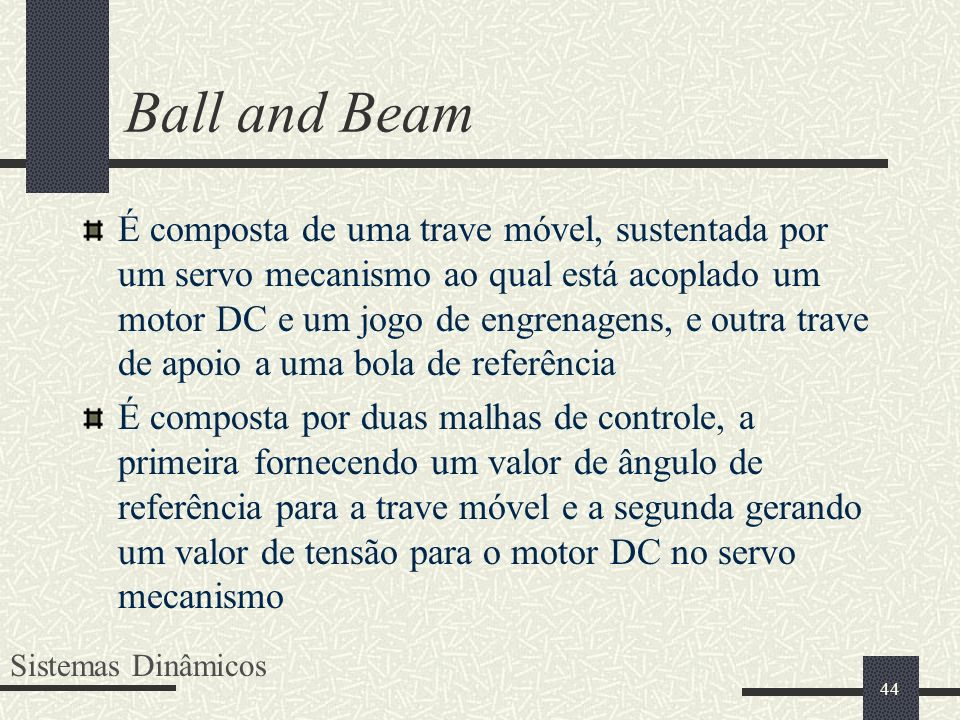 Ball and Beam