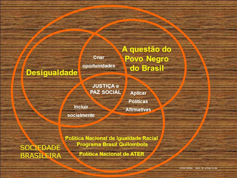 A questão do Povo Negro do Brasil Desigualdade