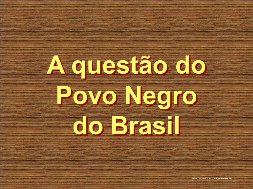 A questão do Povo Negro do Brasil