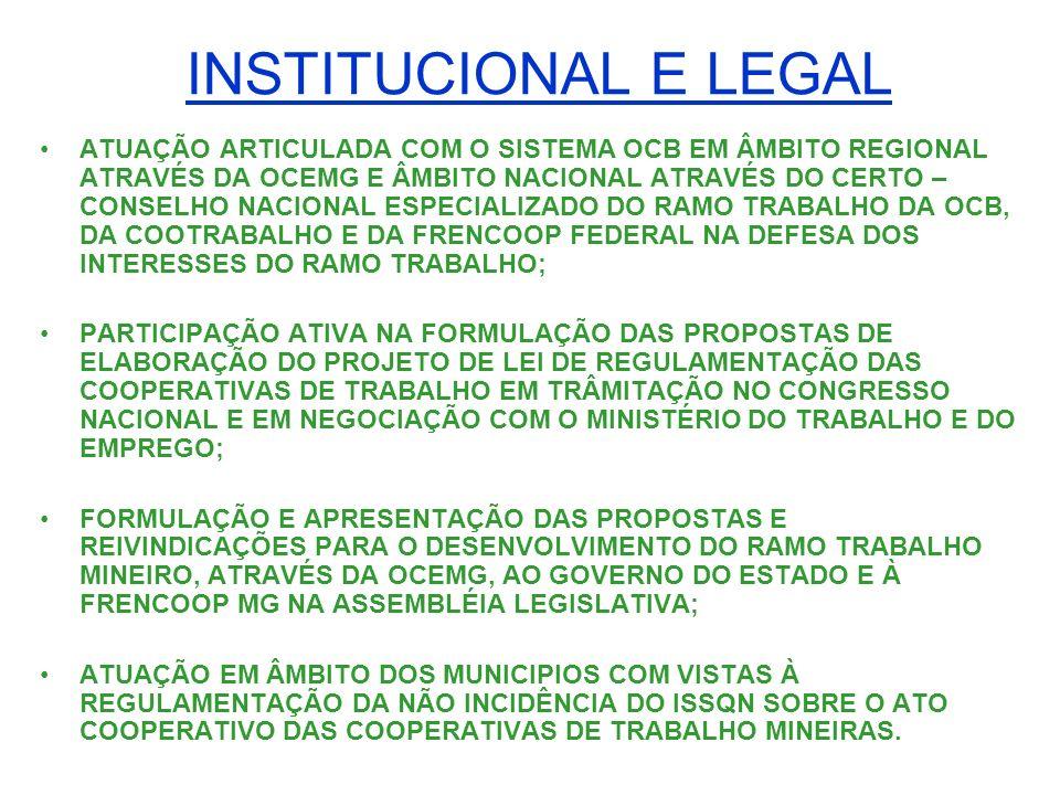 INSTITUCIONAL E LEGAL