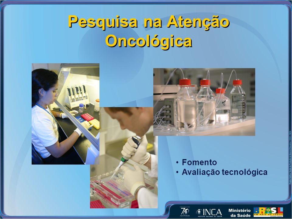 Pesquisa na Atenção Oncológica