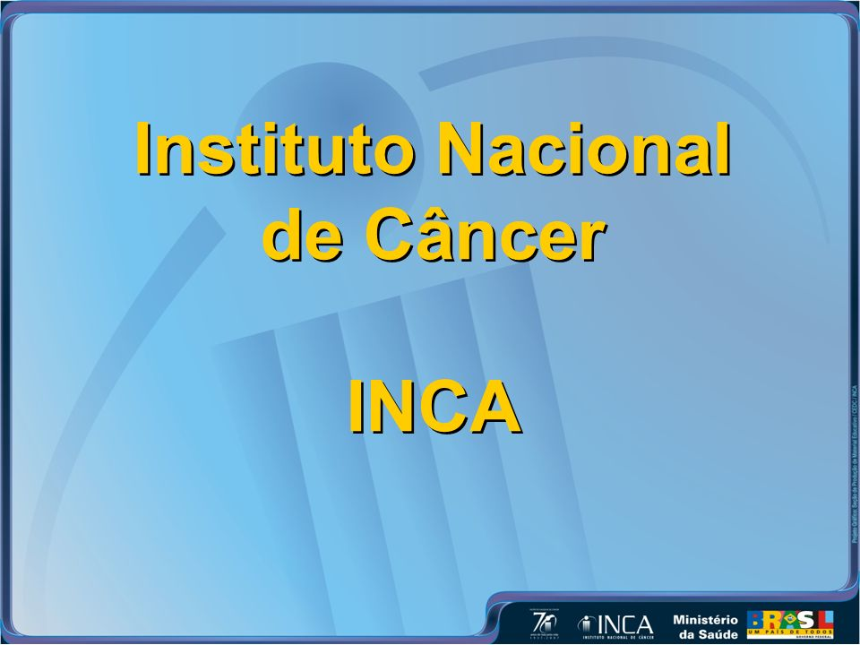 Instituto Nacional de Câncer