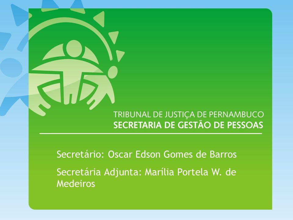 Secretário: Oscar Edson Gomes de Barros