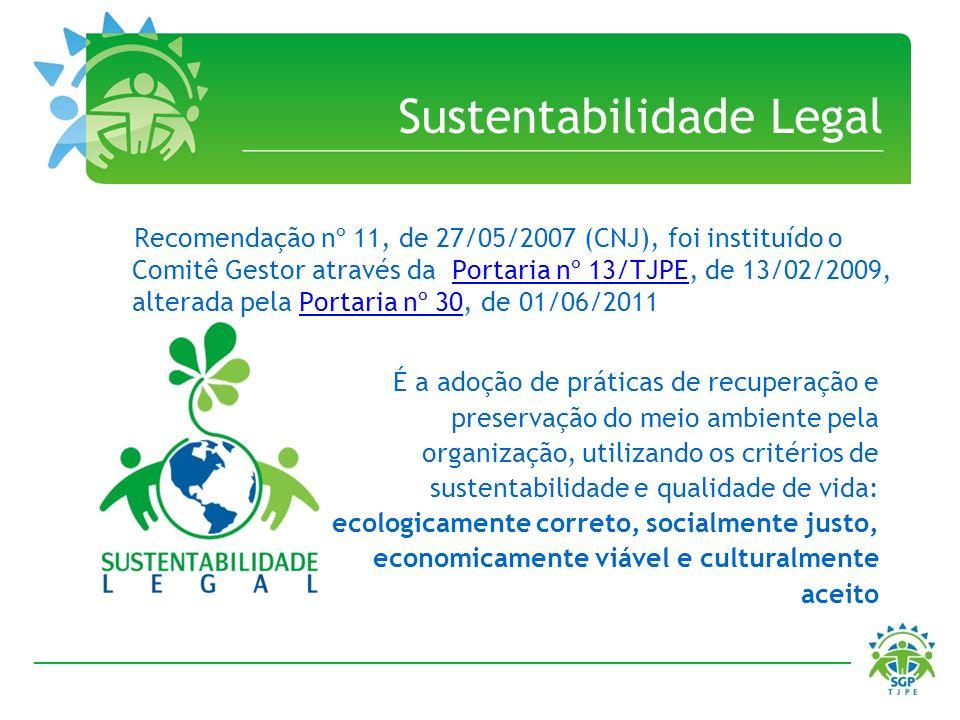 Sustentabilidade Legal