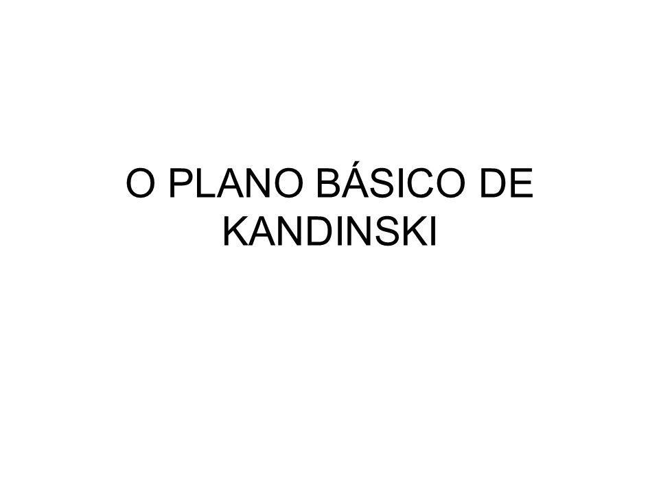 O PLANO BÁSICO DE KANDINSKI