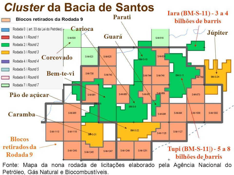 Cluster da Bacia de Santos
