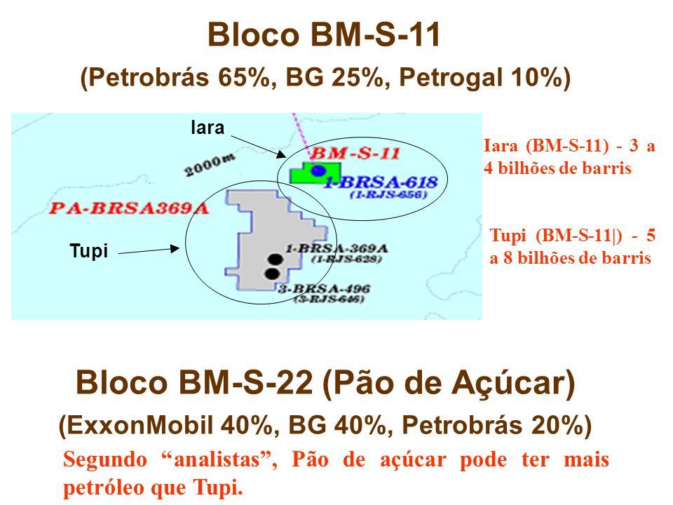 Bloco BM-S-11 Bloco BM-S-22 (Pão de Açúcar)