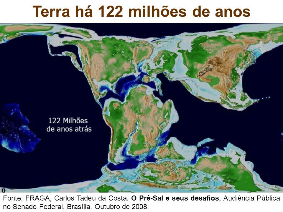 Terra há 122 milhões de anos
