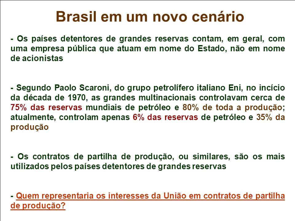 Brasil em um novo cenário