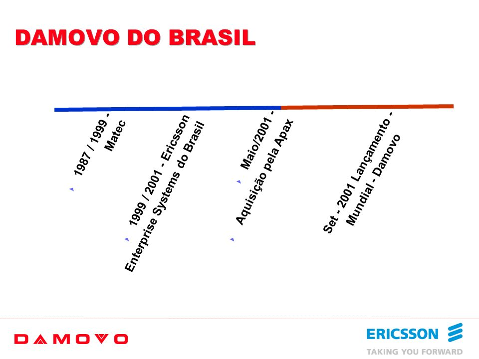 DAMOVO DO BRASIL 1987 / 1999 - Matec