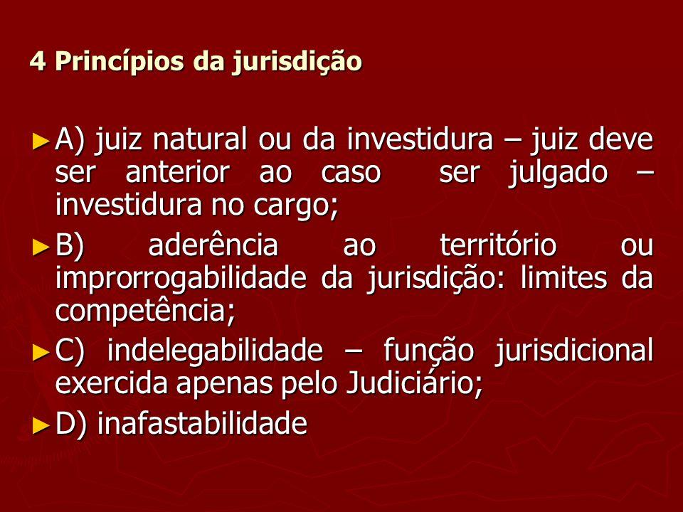 4 Princípios da jurisdição