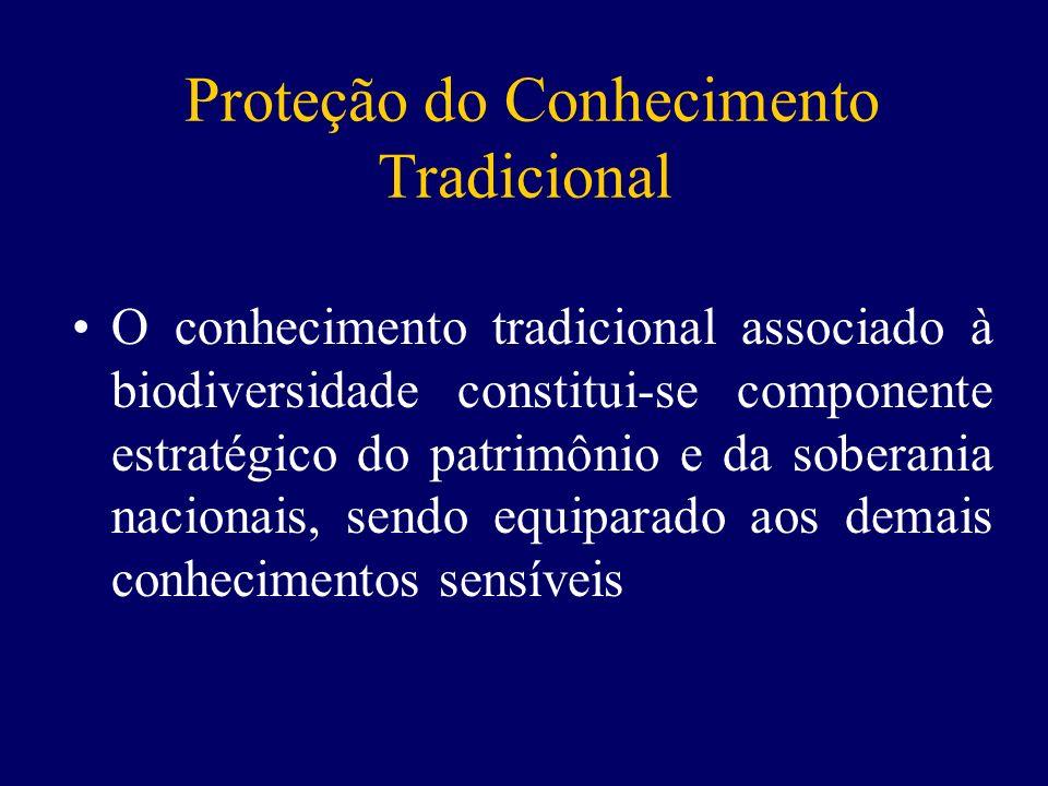 Proteção do Conhecimento Tradicional