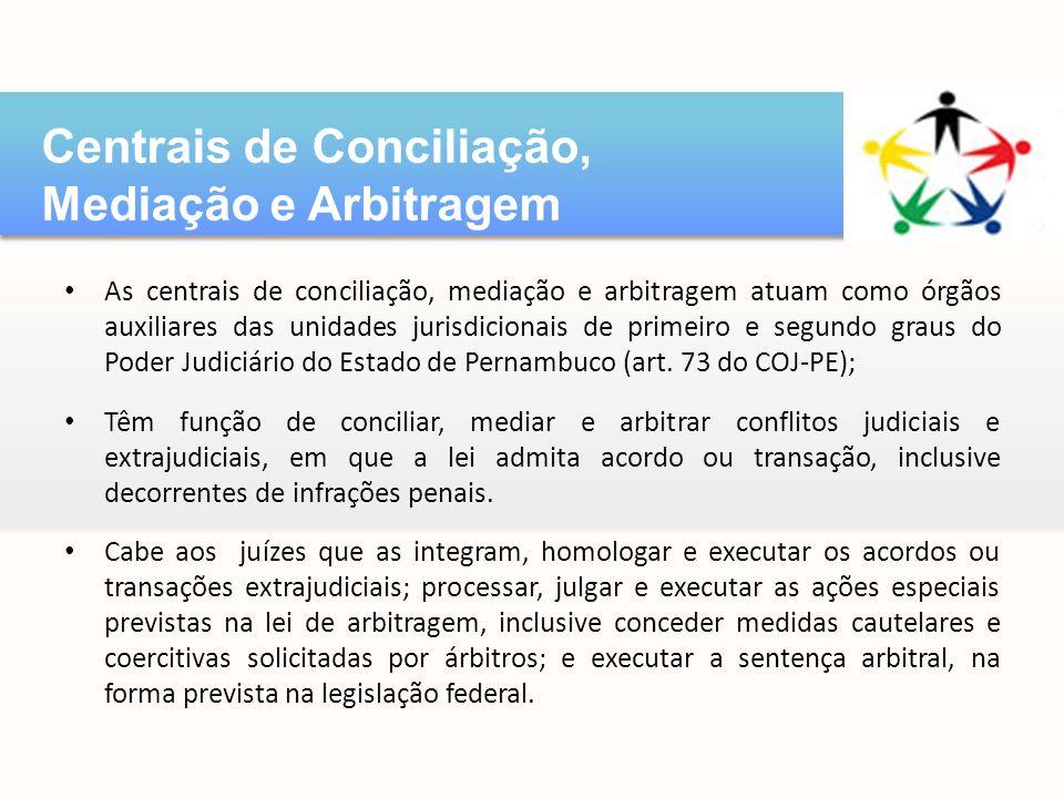 Centrais de Conciliação, Mediação e Arbitragem