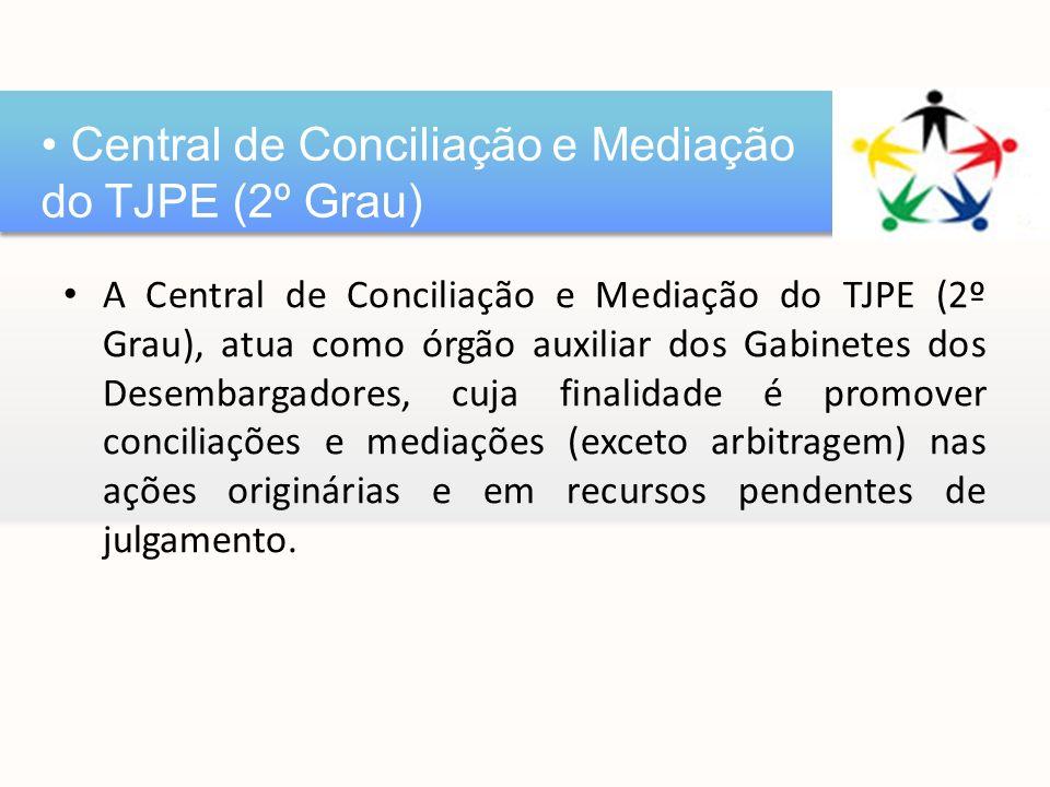 Central de Conciliação e Mediação do TJPE (2º Grau)