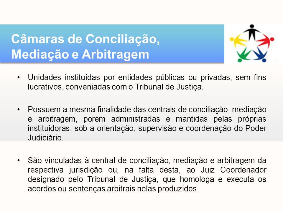 Câmaras de Conciliação, Mediação e Arbitragem