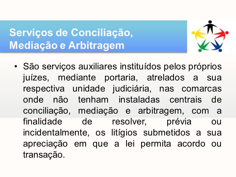 Serviços de Conciliação, Mediação e Arbitragem