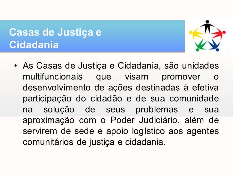 Casas de Justiça e Cidadania
