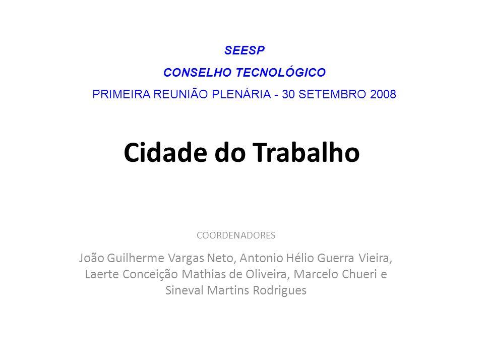 PRIMEIRA REUNIÃO PLENÁRIA - 30 SETEMBRO 2008