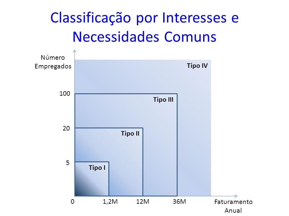 Classificação por Interesses e Necessidades Comuns